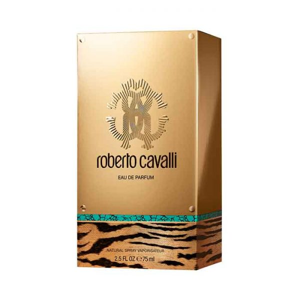 جعبه عطر روبرتو کاوالی گلد طلایی